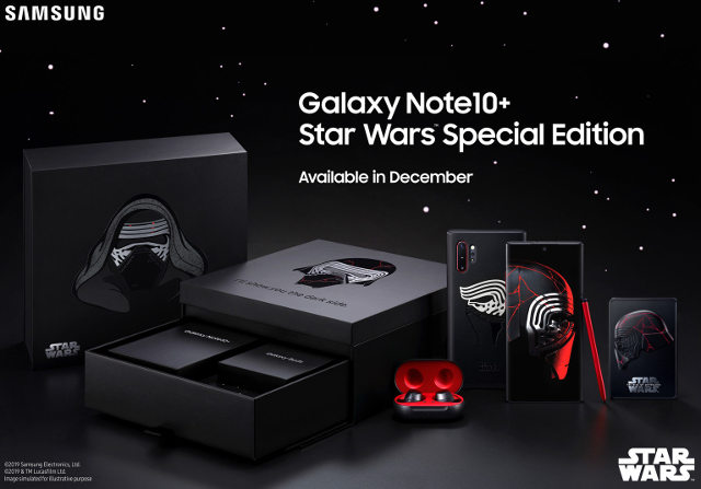 Samsung pack Star Wars Kylo Ren